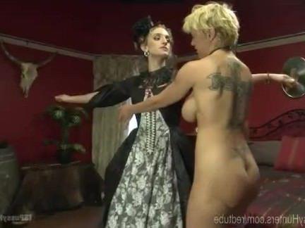 Трансы Порно TS тесты Викторианский дом шлюха секс видео