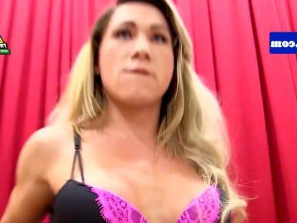 Трансы Порно Бразильский транс с bigtits рывков хуй секс видео