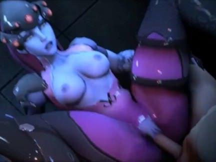 Гермафродиты Порно Порно Overwatch с симпотными шмелями трахающих земных тёлочек секс видео