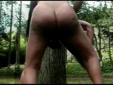 Трансы Порно Транссексуал в лесу секс видео