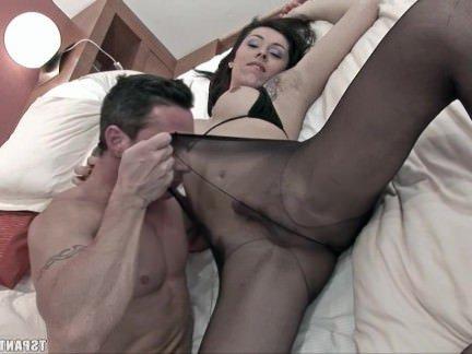 Трансвеститы Порно Сиара ТС Колготки секс видео